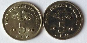 Second-Series-5-sen-coin-2000-2-pcs