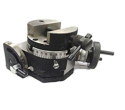 Rotary Table 4 Inch 100 mm Tilting Supplied With Round Rotary Vice 80 mm Dia