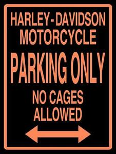 Harley-Davidson-Motorcycle-Parking-Only-Metal-Sign