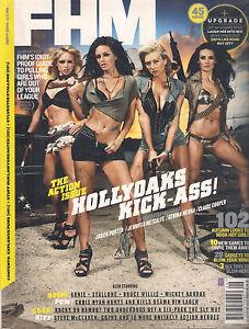 NEW-FHM-Magazine-UK-BRITISH-September-2010-HOLLYOAKS-Stallone-SEALED