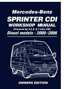 Mercedes-Benz-Sprinter-CDI-Owners-Edition-2000-2006-2-2-Litre-Four-Cyl-and-2-7