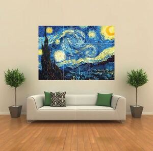 STARRY-NIGHT-VAN-GOGH-NEW-GIANT-POSTER-WALL-ART-PRINT-PICTURE-G185