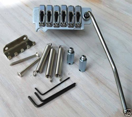 Cordier Tremolo Strat Wilkinson Lic. Gotoh Gaucher lefty Satin Chrome VS100GCLH