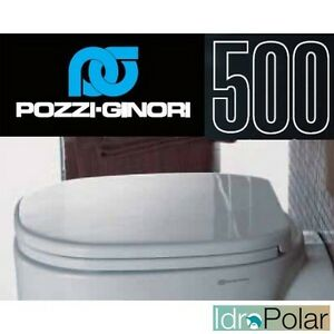Sedile Pozzi Ginori Serie 500.Copri Water Wc Asse Sedile Serie 500 Originale Pozzi Ginori Codice