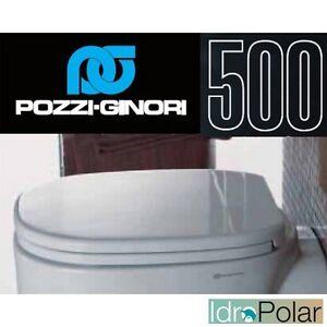 Sedile Copri Wc Serie 500 Pozzi Ginori.Cover Water Toilet Seat Axis Series 500 Original Wells Ginori Code 41761 New Ebay