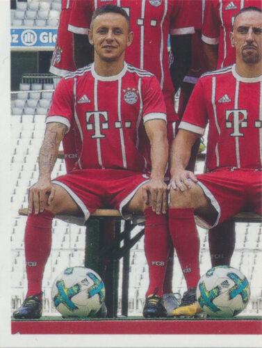 Sticker 6 Panini FC Bayern München 2017//18 BAM1718 Mannschaftsbild