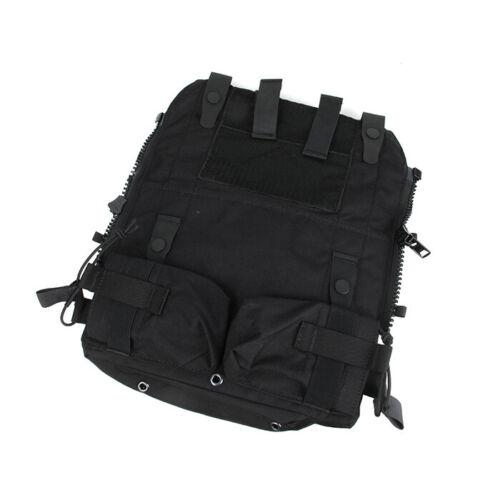 TMC3189 Tactical Vest Pouch Bag Zip Panel for 16-19 AVS JPC2.0 CPC Vest