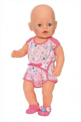 Zapf Creation Baby Born Doll Pyjamas Amp Pink Shoes Set Ebay