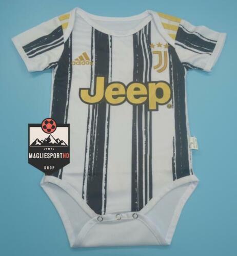 Bambino tutina tuta Calcio Ronaldo Juve Body Neonato Juventus Personalizzabile
