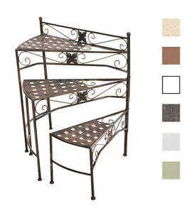 garten blumenregal swing eisen pflanzentreppe gartenregal. Black Bedroom Furniture Sets. Home Design Ideas