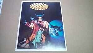1983-Original-14-x-11-Marvel-Comics-X-Men-Wolverine-poster-print-plus-2-bonus