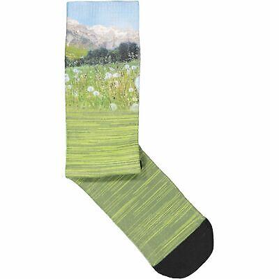 Cmp Calzini Sportivi Printed Trekking Sock Verde Traspirante Leggero Stampa Fotografica-mostra Il Titolo Originale Elegante E Grazioso
