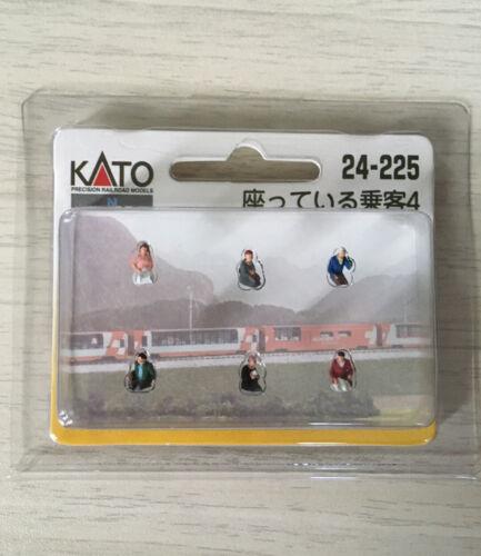 Passenger Set for Glacier Express car KATO 24-225 N Gauge