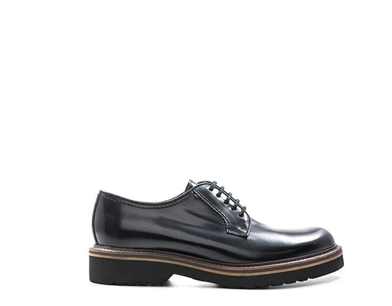 Zapatos ANTICA CUOIERIA hombres STRINGATE    negro Pelle naturale 20321-D-V37S 740bd6