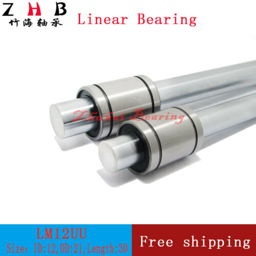 200pcs//lot FedEx Shipping LM10UU 10mm linear ball bearing for 10mm linear shaft