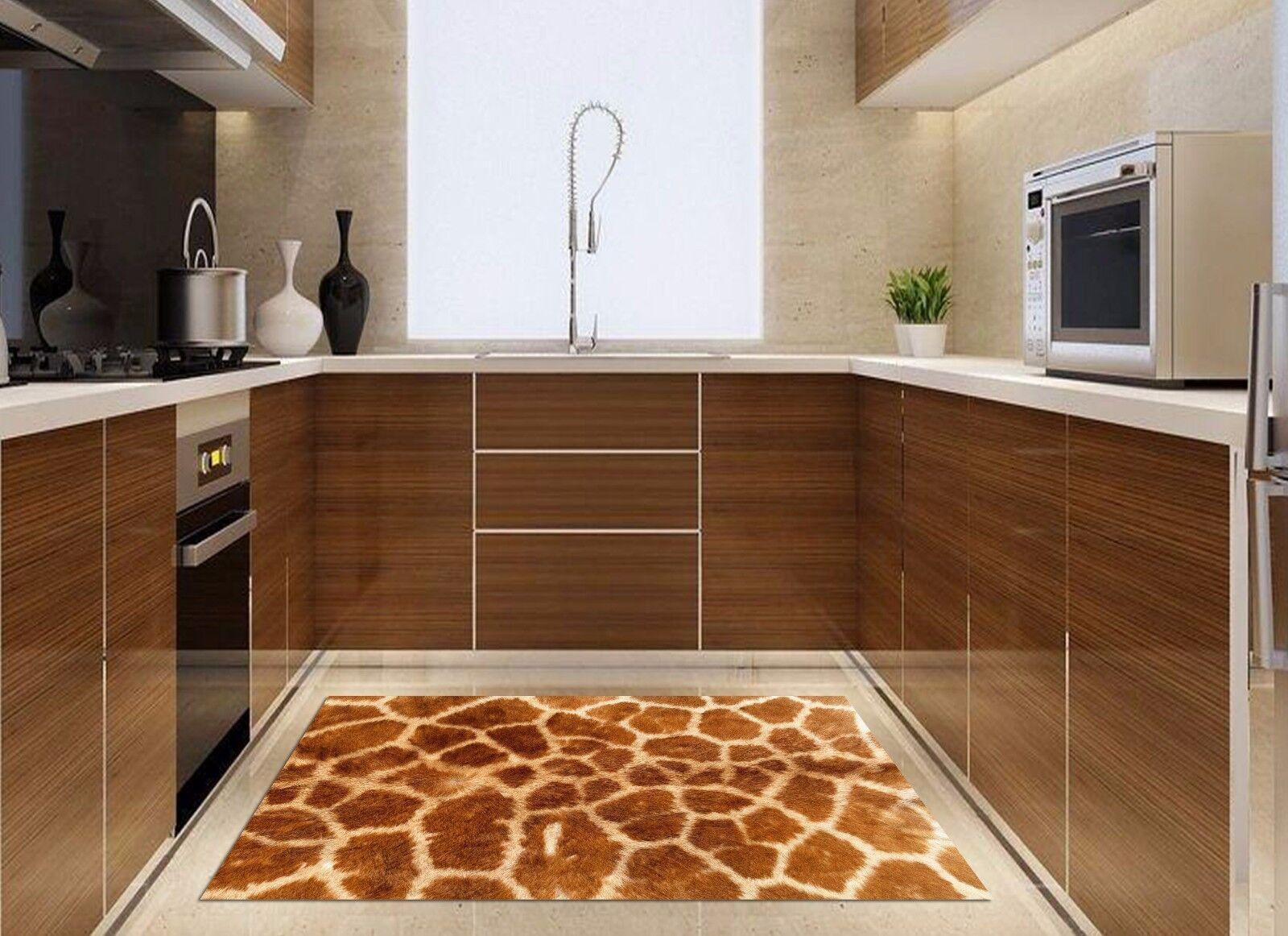 3D Leopard Texture 833 Kitchen Mat Floor Murals Wall Print Wall Deco UK Carly