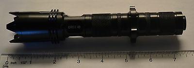 Aurora X-06-3 Cree P4-WC 120-Lumen LED Flashlight with Assault Crown 3*CR123A