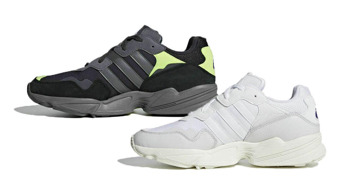 Herren Adidas Original Yung 96 Turnschuhe Weiß Schwarz