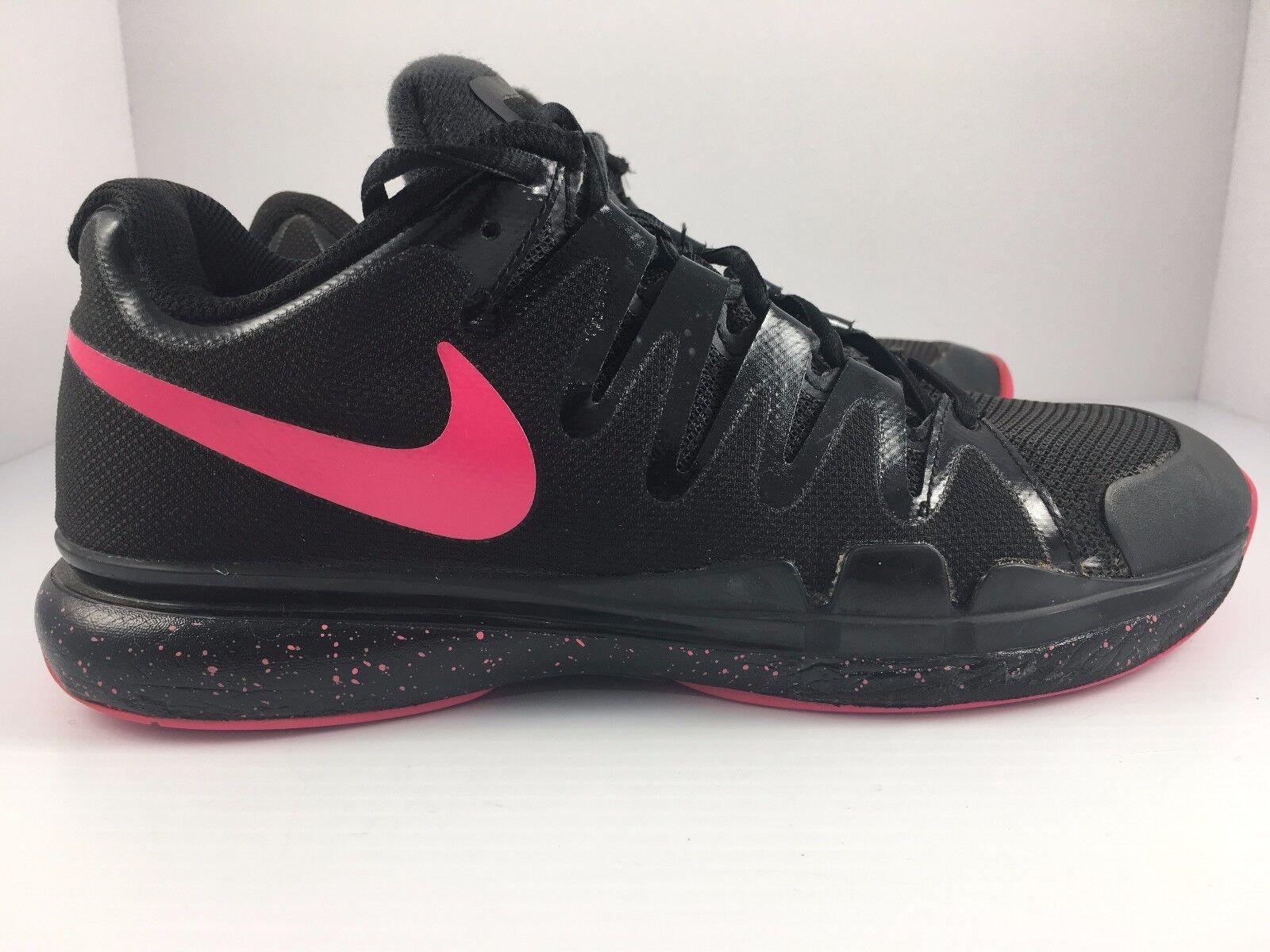 194b945241a5a Nike Zoom Vapor 9.5 Tour Black Hyper Black Hyper Black Hyper Pink Tennis   631475-060  Women s Size 8.5 7ae3c5