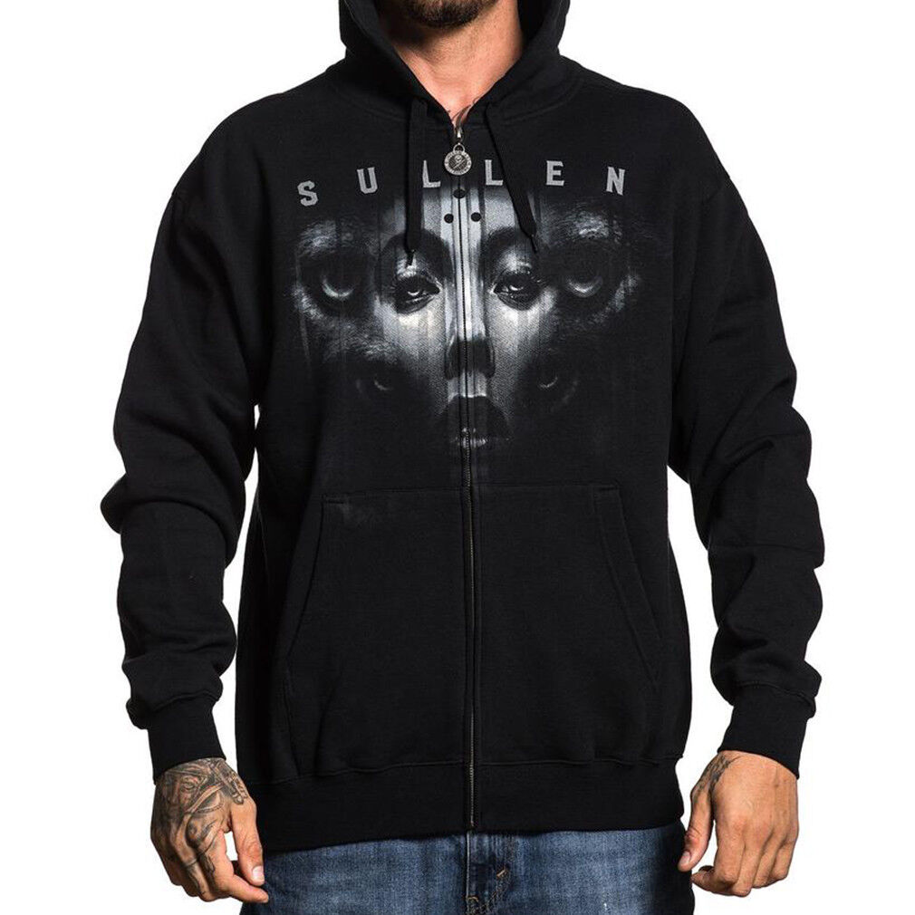 Sullen Art Collective Clothing Kapuzenjacke - Jak Connolly Hoodie Tattoo
