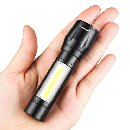 14500LM Super Bright Torch Led Flashlight USB Rechargeable Tactical light CW