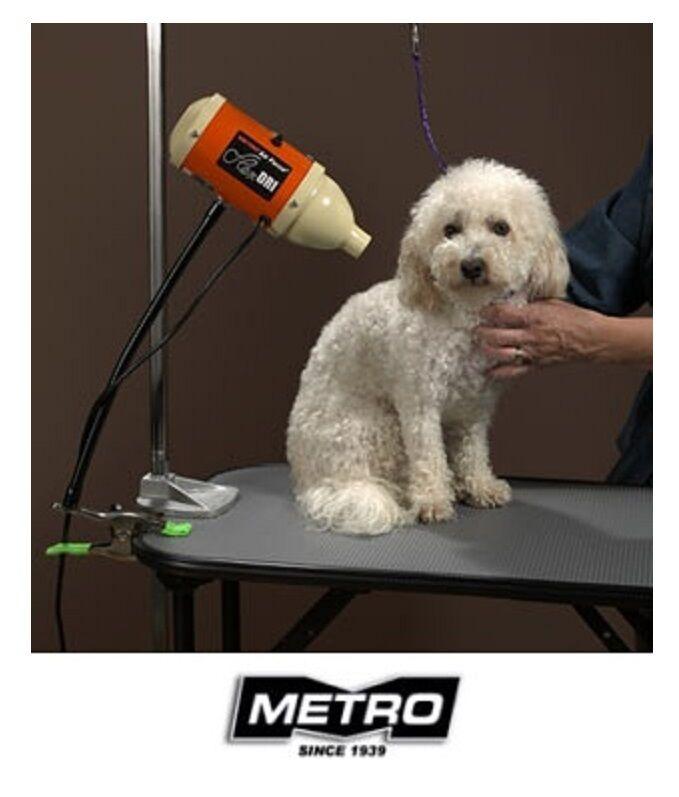 Metro Air Force HANDS FREE Pet Flex HAIR DRYER w ARM PET CAT DOG GROOMING 3 4 HP