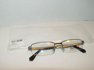 New Quiksilver QO3040/403 Silver Black Glasses Frames 46mm ...