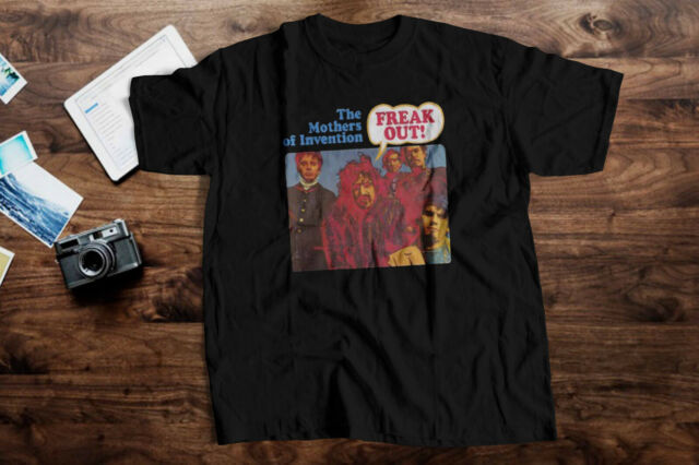 new FRANK ZAPPA AND THE MOTHERS OF INVENTION rock men t shirt S to 4XLT