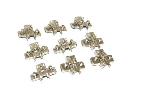 9 Stück SALICE Kreuzmontageplatte Montageplatte Topfscharnier Türscharnier