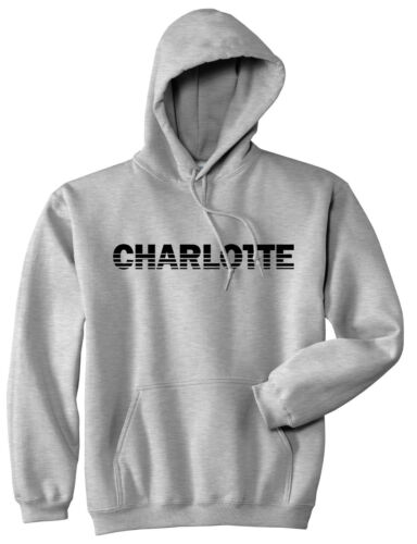 Charlotte North Carolina State City College University Pullover Hoody Hoodie