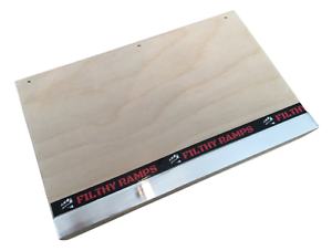 Filthy Ramps Mini Manual Pad with Ledge for fingerboards and tech decks