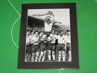 Bolton Wanderers Nat Lofthouse Signed 1958 FA Cup Winners Mounted Photograph