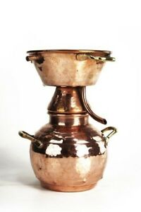 Coppergarden Alquitara Distillerie ❀ 0,5 L ❀ Avec Beaucoup D'amour Forgé-tfr-fr Afficher Le Titre D'origine