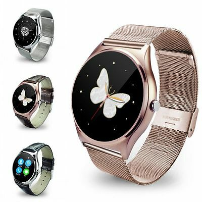 New Bluetooth Waterproof Smart Watch Heart Rate Unlocked for IOS Android Phone