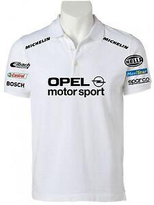 POLO-OPEL-MOTORSPORT-maglietta-felpa-yamaha-t-shirt-maglia-alfa-romeo-ferrari-hf