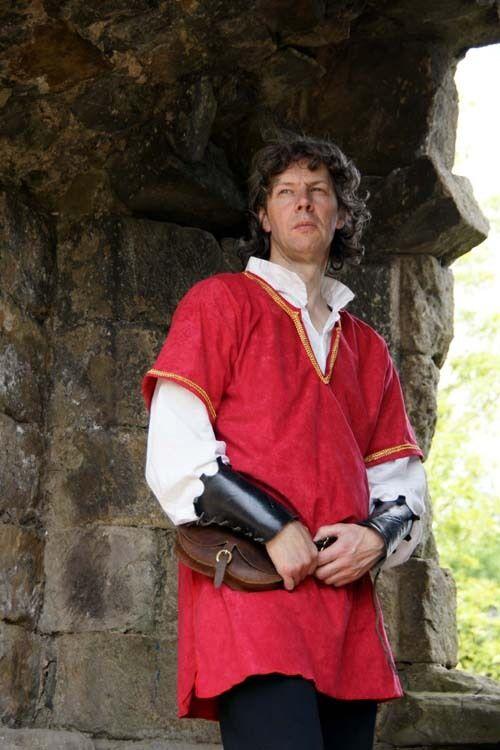 Mittelalterlich   Larp Geflochten Rot Kostüm Kostüm Kostüm Tunika in Alle Größen | Neu  | Heißer Verkauf  | Große Ausverkauf  cfe4a4