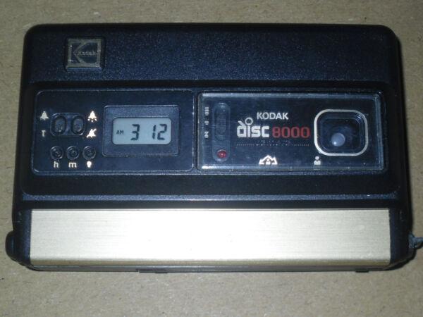 100% De Qualité Kodak Disc Appareil Photo. Disc 8000. Vintage Photography/appareil Photo. Utilisé.-mera. Used. à Distribuer Partout Dans Le Monde