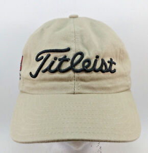 8a81165d14f Titleist By New Era Rocky Run Golf Course StrapBack Hat Baseball Cap ...