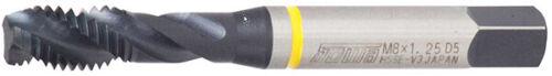 SOWA 123372 1//4-20 UNF Yellow Ring GH3 HSSE V3 Spiral 3 Flute Bot Tap