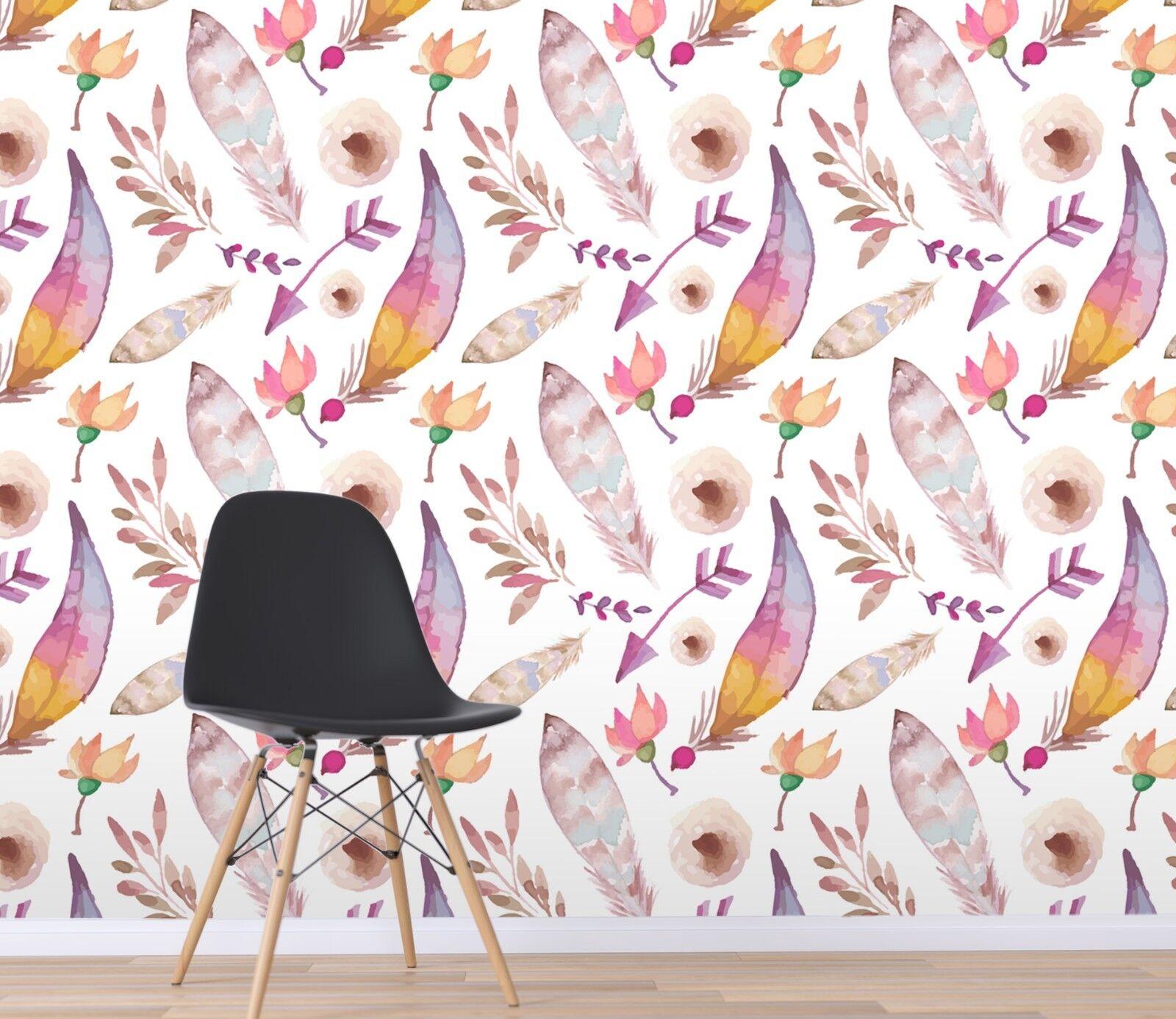 3D WaterFarbe Painting 2 Wallpaper Mural Print Wall Indoor Wallpaper Murals UK