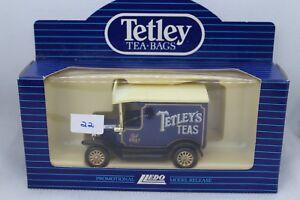 Lledo Days Gone 1920 Model T Ford Van avec TETLEY thé decals