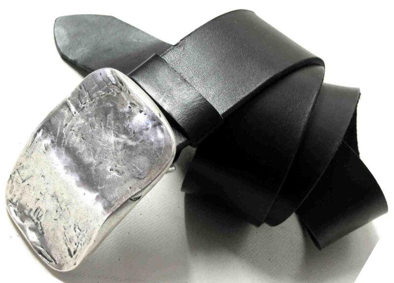 1a SattlerqualitÄt Ledergürtel Neu Gürtel Leder 5cm Breit Xl Maßanfertigung Top#
