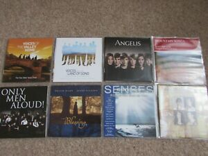 8-X-VARIED-MUSIC-CDS-ANGELIS-WELSH-CHOIRS-AND-MORE