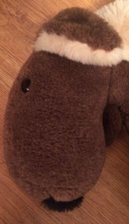 grande grande grande Marronee Moose Plush 24  564e7a