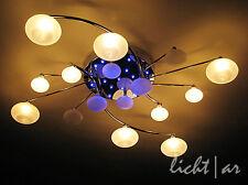 """Design Lampada da soffitto """"Jolly"""" 16-flg. telecomando cambio colore LED Lampada Nuovo"""