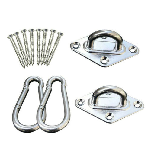 12pcs Hammock Hanging Hamm Hook Ring for Hammock Bracket Hammocks Accessory