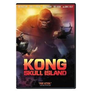 Details About Kong Skull Island Dvd 2017