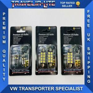 Para-VW-T5-T5-1-T6-Transporter-Paquete-De-Luz-LED-Interior-Canbus-Libre-De-Errores