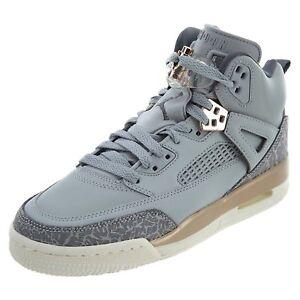 3ef4b98cf9a705 Nike Air Jordan Spizike GG Wolf Grey Dark Grey (GS)(535712 018) Sz ...