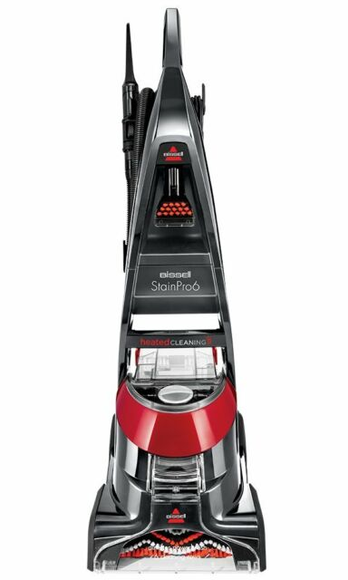 Bissell Stain Pro Q6 Carpet Cleaner Heat Wave Technology Rotating Dirt Lifter Uk